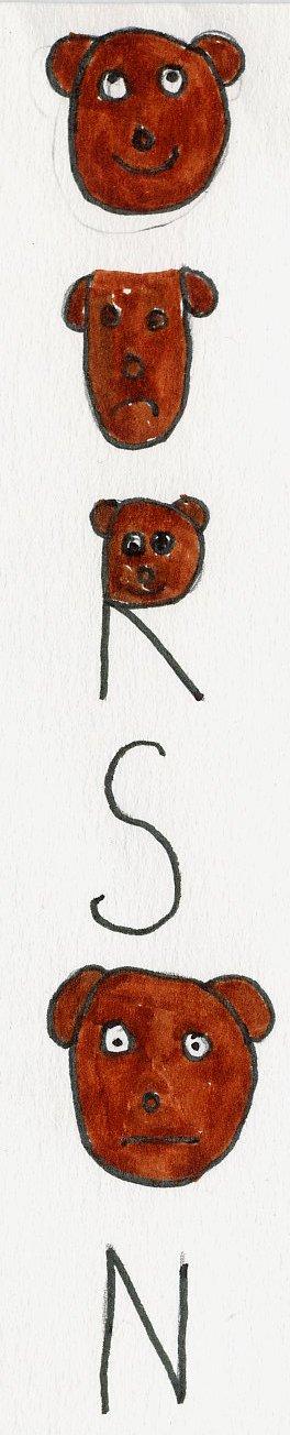 les mots déguisés Orange